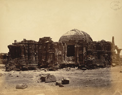 The Somanatha Temple from the south, Somnath (Prabhas Patan)